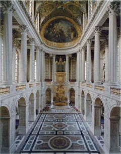 Chapelle Chateau de Versailles - architectural interior portrait of the monument