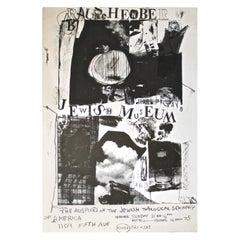 Robert Rauschenberg 1963 Jewish Museum Poster
