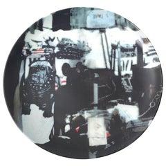 """Robert Rauschenberg """"Bulldog"""" Guggenheim Retrospective Limitied Edition Plate"""