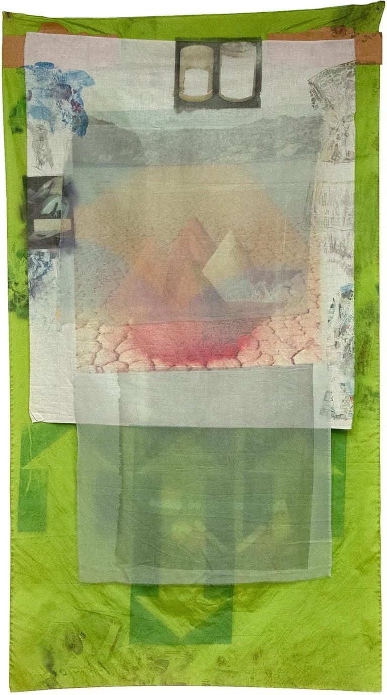 Berm (Hoarfrost) - Mixed Media Art by Robert Rauschenberg