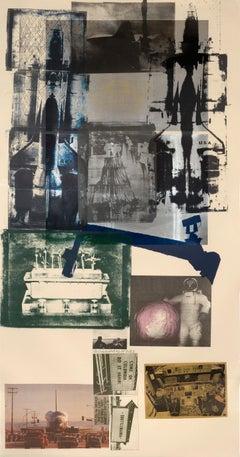 Hot Shot, Post- Modern, Lithograph by Robert Rauschenberg