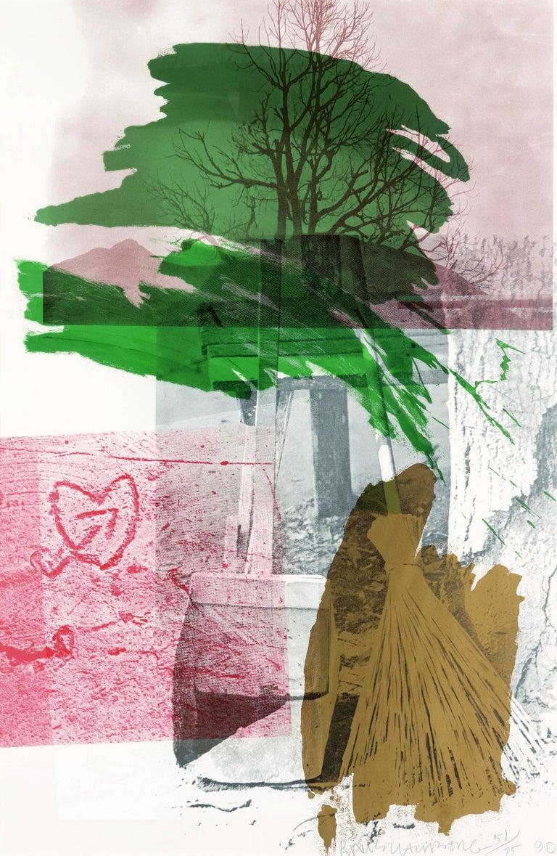 Robert Rauschenberg Print - Earth Day