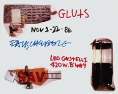 Gluts, 1986 Leo Castelli Gallery Exhibition Poster