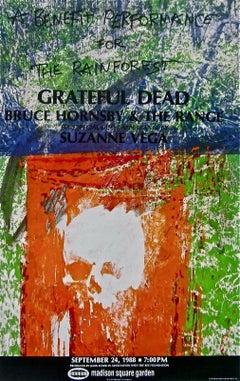 Grateful Dead, 1988 Rainforest Benefit Poster