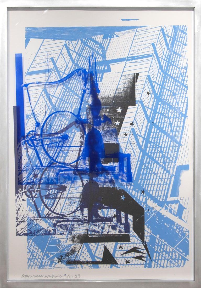 Prime Pump from ROCI USA  - Print by Robert Rauschenberg