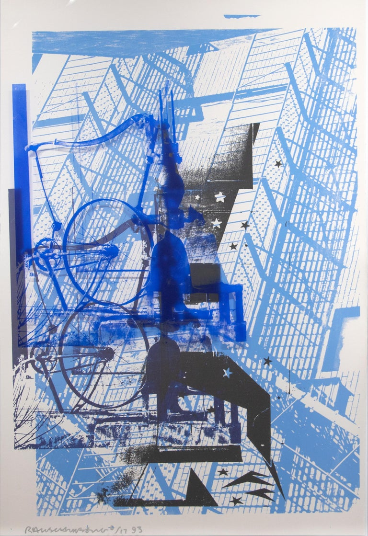 Robert Rauschenberg Abstract Print - Prime Pump from ROCI USA