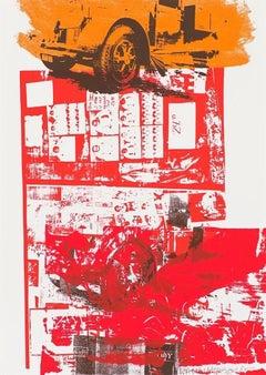 Read Bleed, Robert Rauschenberg