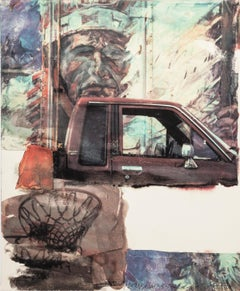 "Robert Rauschenberg, ""American Indian"" (2000), archival pigment print on paper"