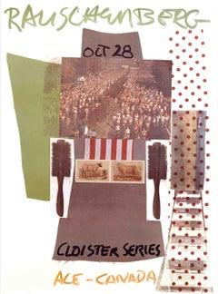 """Robert Rauschenberg-Cloister Series, Ace Gallery, Canada-55"""" x 36""""-Poster-1981"""