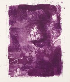 """Robert Rauschenberg """"Flower Re-Run"""" Litho, 1968"""