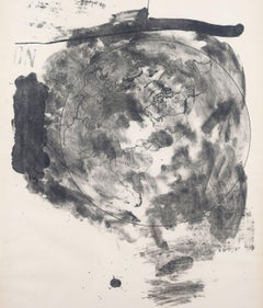 "Robert Rauschenberg ""Medallion (Stoned Moon)"" Litho, 1969"