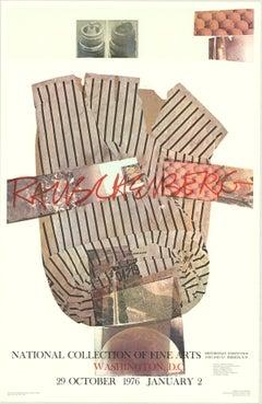 "Robert Rauschenberg-National Collection of Fine Arts-45.5"" x 29.5""-Poster-1976"