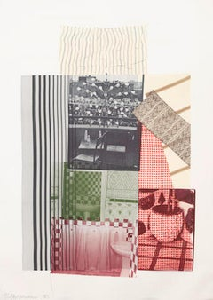 Robert Rauschenberg 'Pre-Morocco' Limited Edition Signed Lithograph