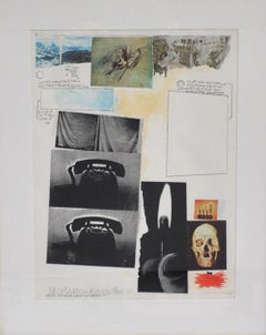 Robert Rauschenberg, Silkscreen, signed and numbered 31/250
