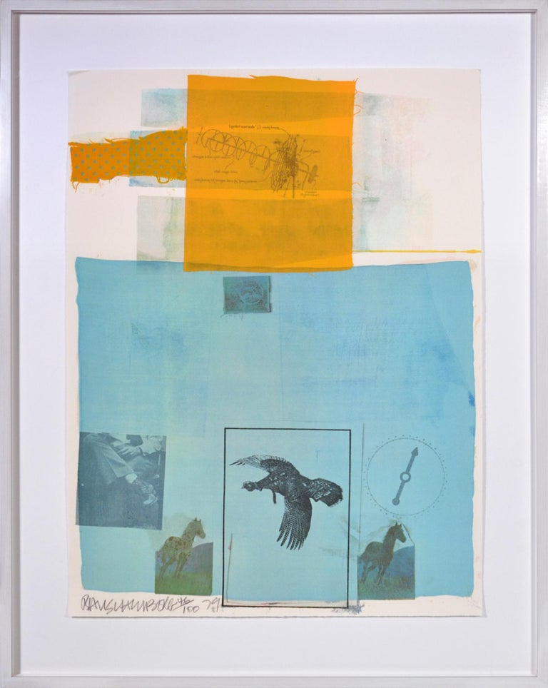 Group of nine Offset lithographs, 1979, resp. silkscreen on vellum, signed, dated and numbered from the edition of 100 (there were 10 Hors Commerce and an unrecorded number of artist's proofs), published by Multiples, Inc., New York with the blind