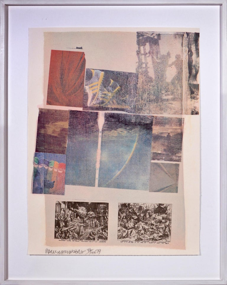 Robert Rauschenberg, Suite of Nine Prints, group of nine lithograph, signed, 197 For Sale 1