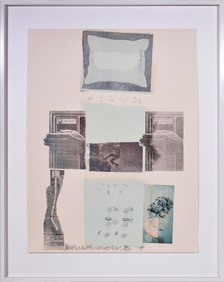 Robert Rauschenberg, Suite of Nine Prints, group of nine lithograph, signed, 197 For Sale 2