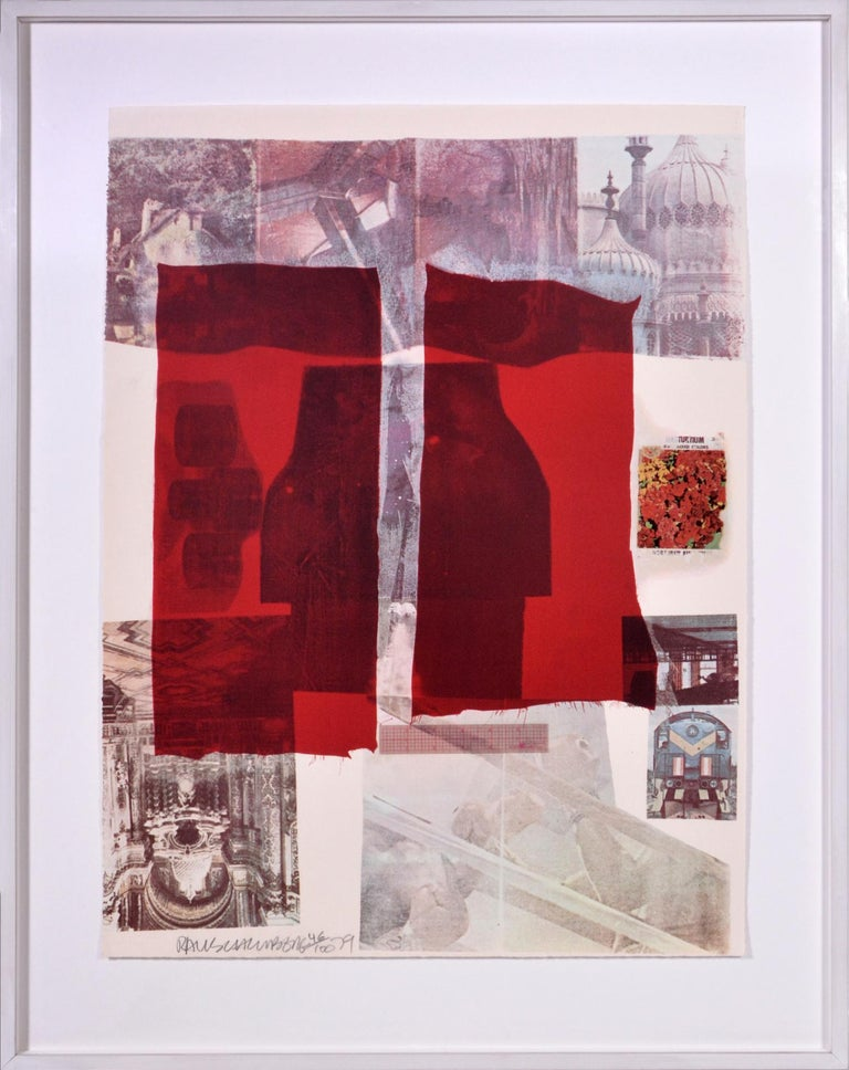 Robert Rauschenberg, Suite of Nine Prints, group of nine lithograph, signed, 197 For Sale 3