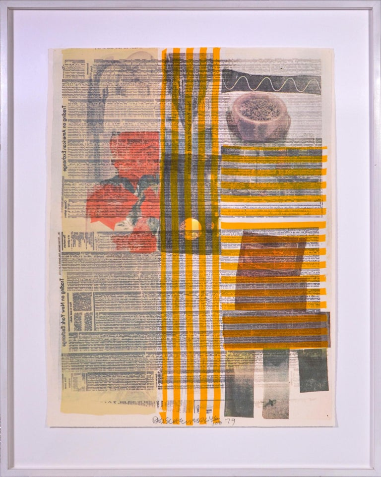 Robert Rauschenberg, Suite of Nine Prints, group of nine lithograph, signed, 197 For Sale 4