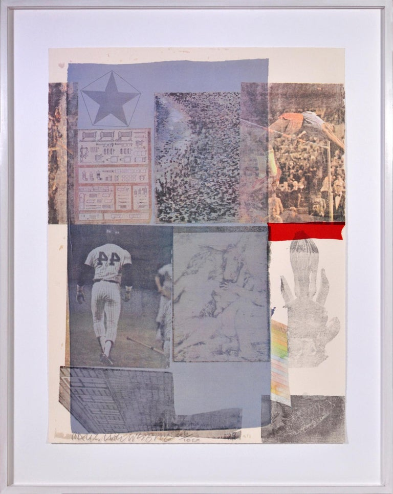 Robert Rauschenberg, Suite of Nine Prints, group of nine lithograph, signed, 197 For Sale 7