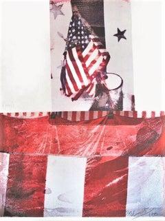 Untitled(For Kennedy), Robert Rauschenberg