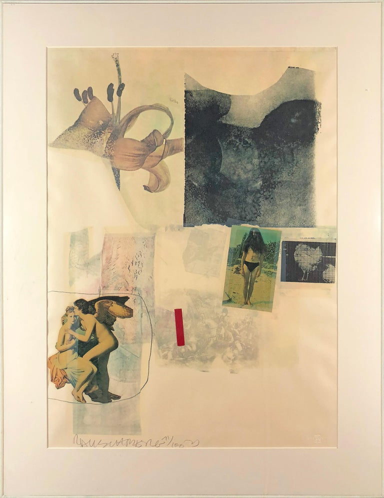 Untitled - Print by Robert Rauschenberg