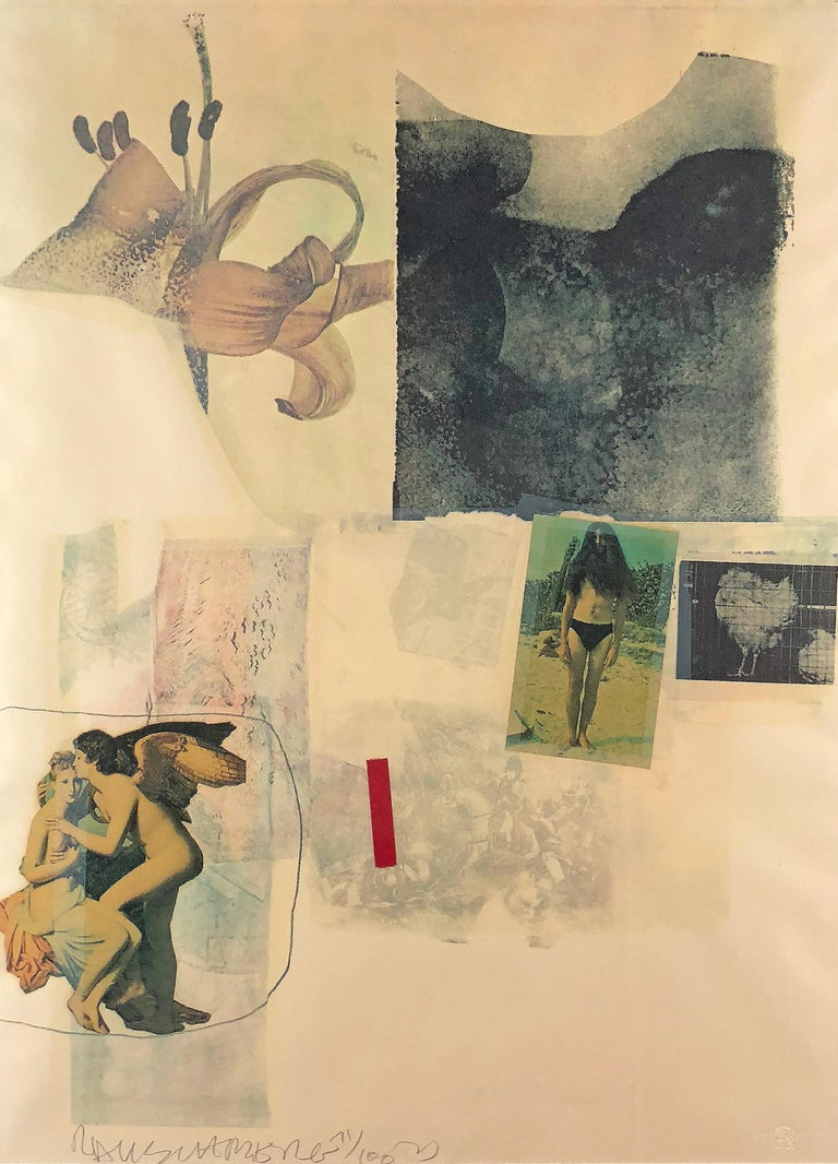 Robert Rauschenberg Abstract Print - Untitled