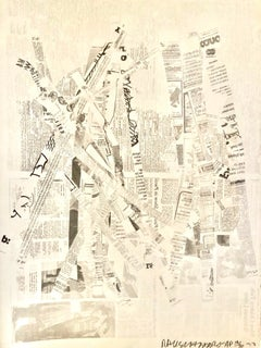Untitled, Hommage to Picasso, Abstract Lithograph