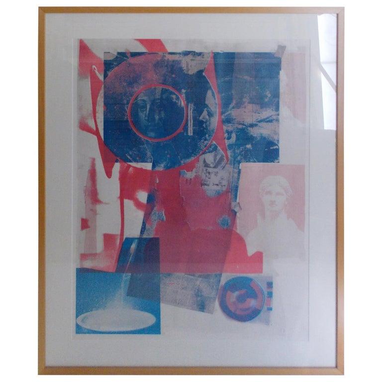 "Robert Rauschenberg Quarry"" Lithograph For Sale"