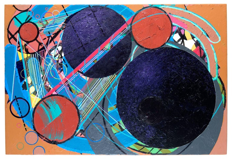 Robert Reed Abstract Painting - Power of Ten, C'Villian