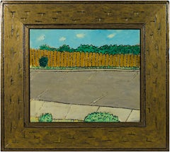 """Window View,"" oil painting on wood by Robert Richter"