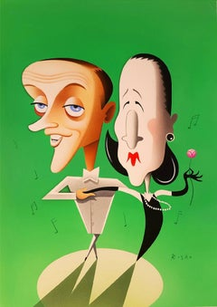 Fred Astaire and Diana Vreeland, Vanity Fair Magazine