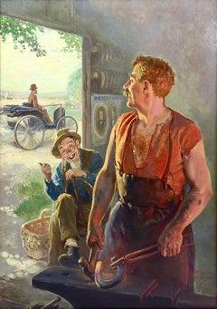 Cover Illustration for ''Motor'' Magazine