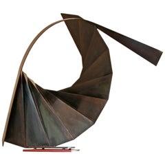 Robert Roesch Modern Sculpture, signed Roesch IX