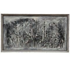 """""""Trees"""" Minimal Impressionist Painting"""