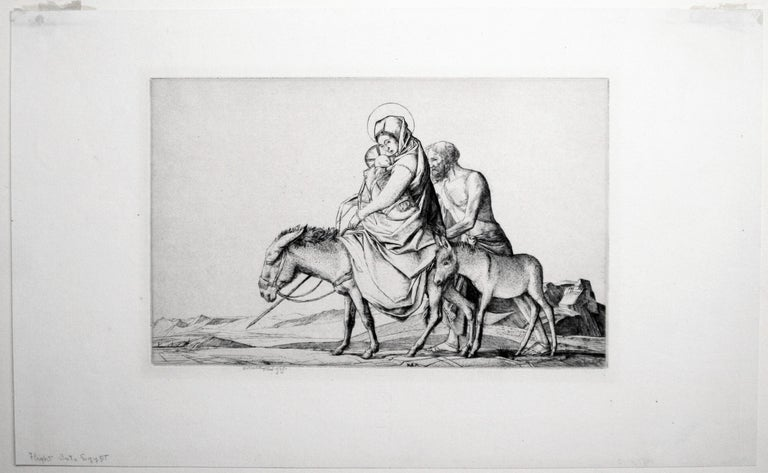 The Flight into Egypt - Print by Robert Sargent Austin, R.A., P.R.E., P.R.W.S.