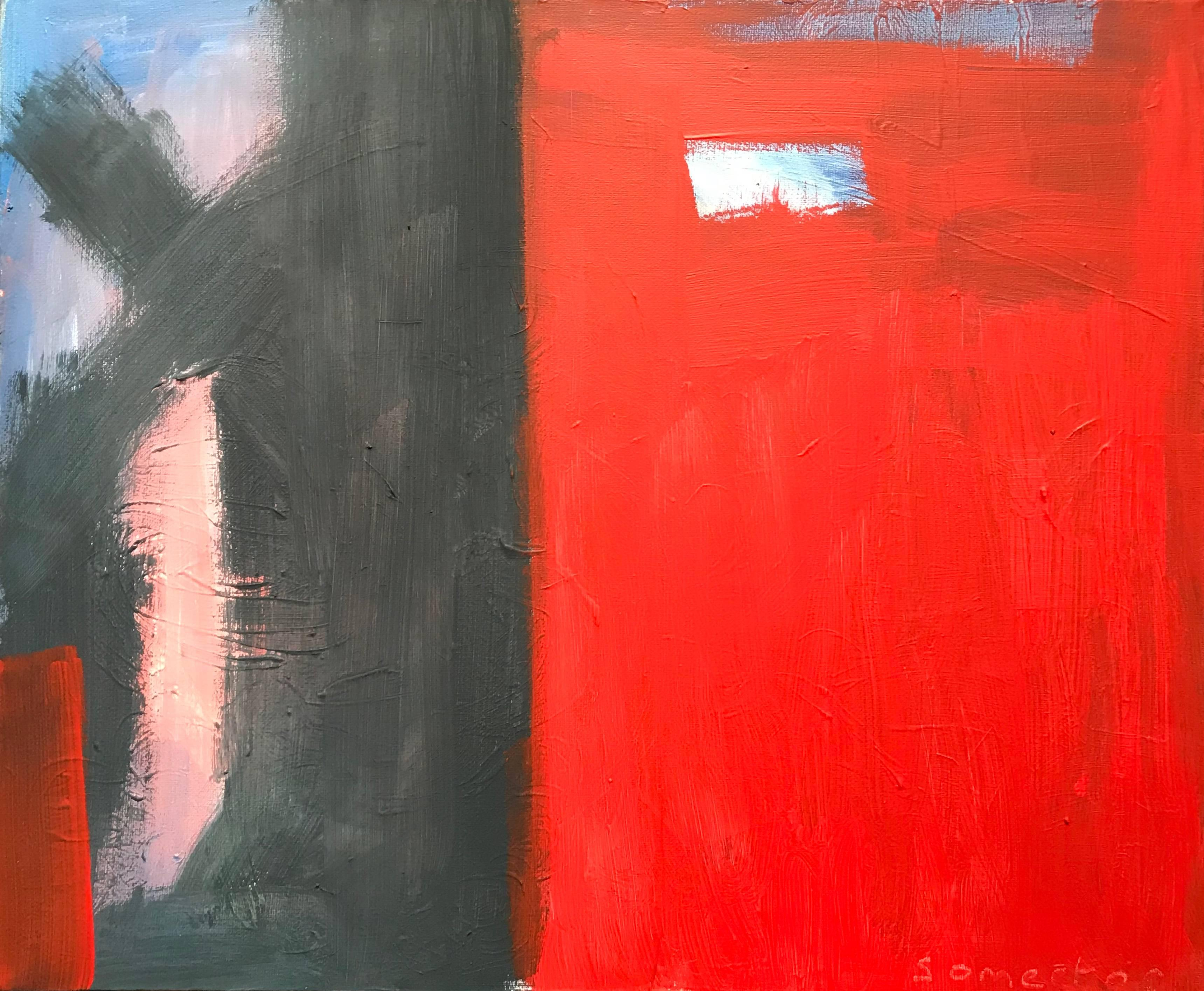 Fine British Abstract Original Painting Signed
