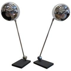 Robert Sonneman Articulating Table Lamps