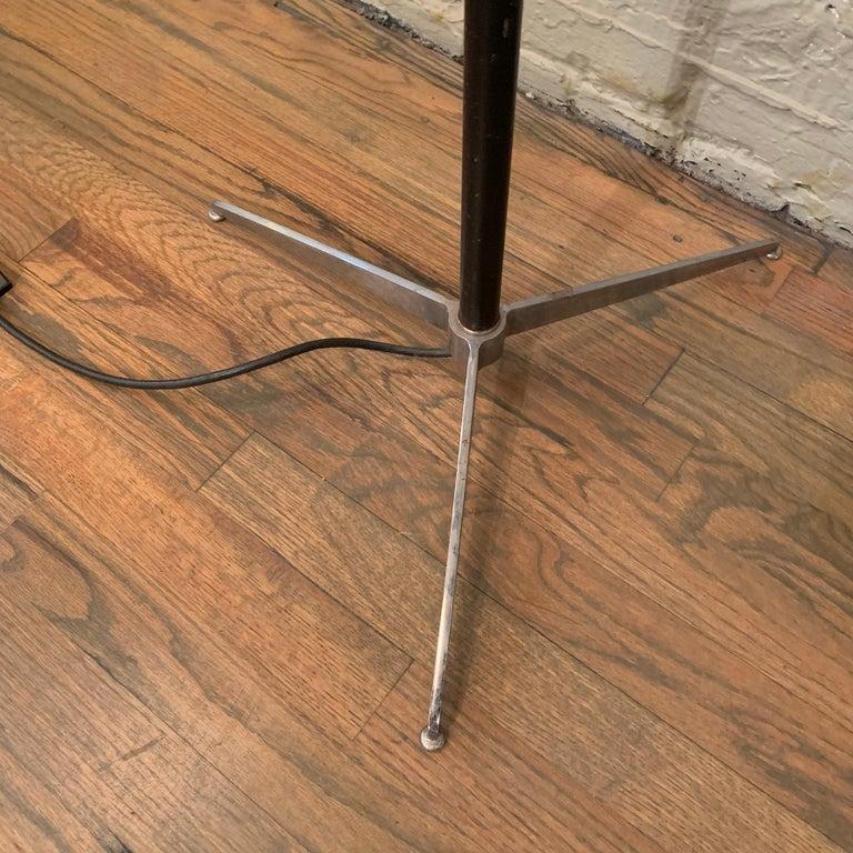 Robert Sonneman Chrome Eyeball Extension Arm Floor Lamp For Sale 5
