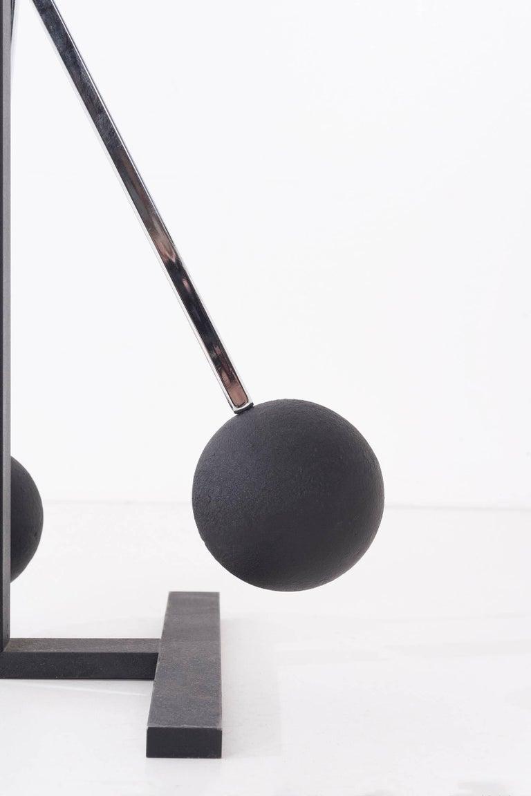 Robert Sonneman Floor Lamp In Excellent Condition For Sale In Chicago, IL