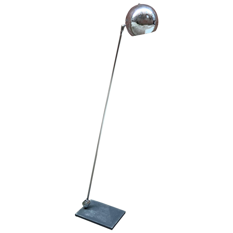 Robert Sonneman for Kovacs Adjustable Chrome Floor Lamp