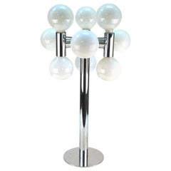 Robert Sonneman Molecular Metal Table Lamp