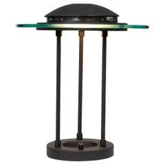 "Robert Sonneman Style ""Saturn"" Table Lamp"