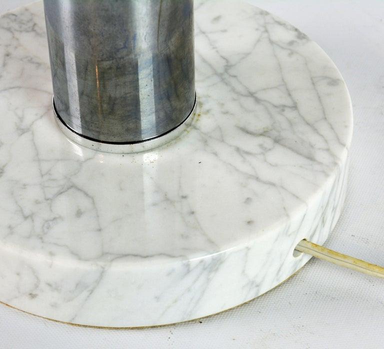 Robert Sonneman Style Vintage Midcentury Style Triple Eyeball Chrome Table Lamp For Sale 1