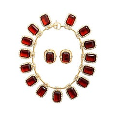 Robert Sorrell Vintage Necklace and earrings