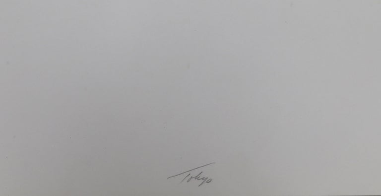 Tokyo 1, Geometric Silkscreen by Robert Squeri For Sale 2