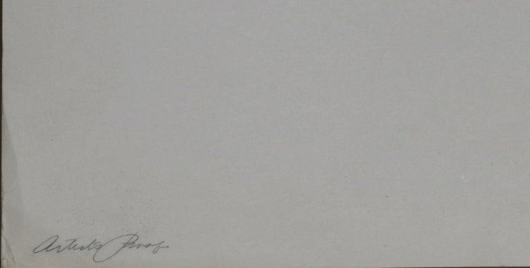 Tokyo 1, Geometric Silkscreen by Robert Squeri For Sale 3