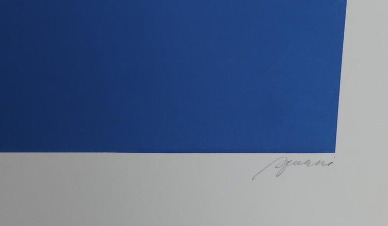 Tokyo 3, Geometric Silkscreen by Robert Squeri For Sale 3