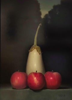 Entourage, still life painting by Robert Stark III