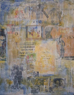 Songs, Mixed Media on Canvas